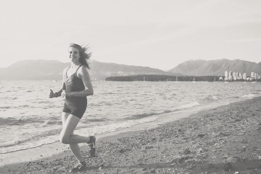 So I startedrunning…